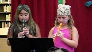 Recorder Duet Summer 2009