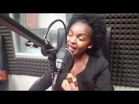 Mwarimu Benjamin Enola na Clarisse Karasira performing izuba rirarenze on Radio Rwanda