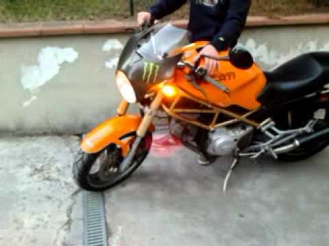 Ducati Monster 600 Carburatori Del 1995 Youtube