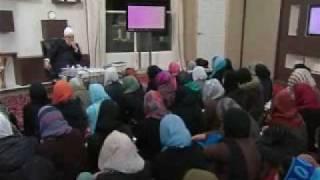 Gulshan-e-Waqfe Nau (Nasirat) Class: 14th November 2009 - Part 4 (Urdu)