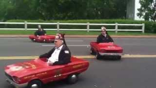 The Pyramid Shriners Motor patrol in Memorial Day parade