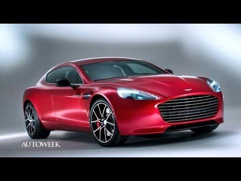 The 2014 Aston Martin Rapide S ups output by 80 hp - Autoweek TV  with Greg Migliore