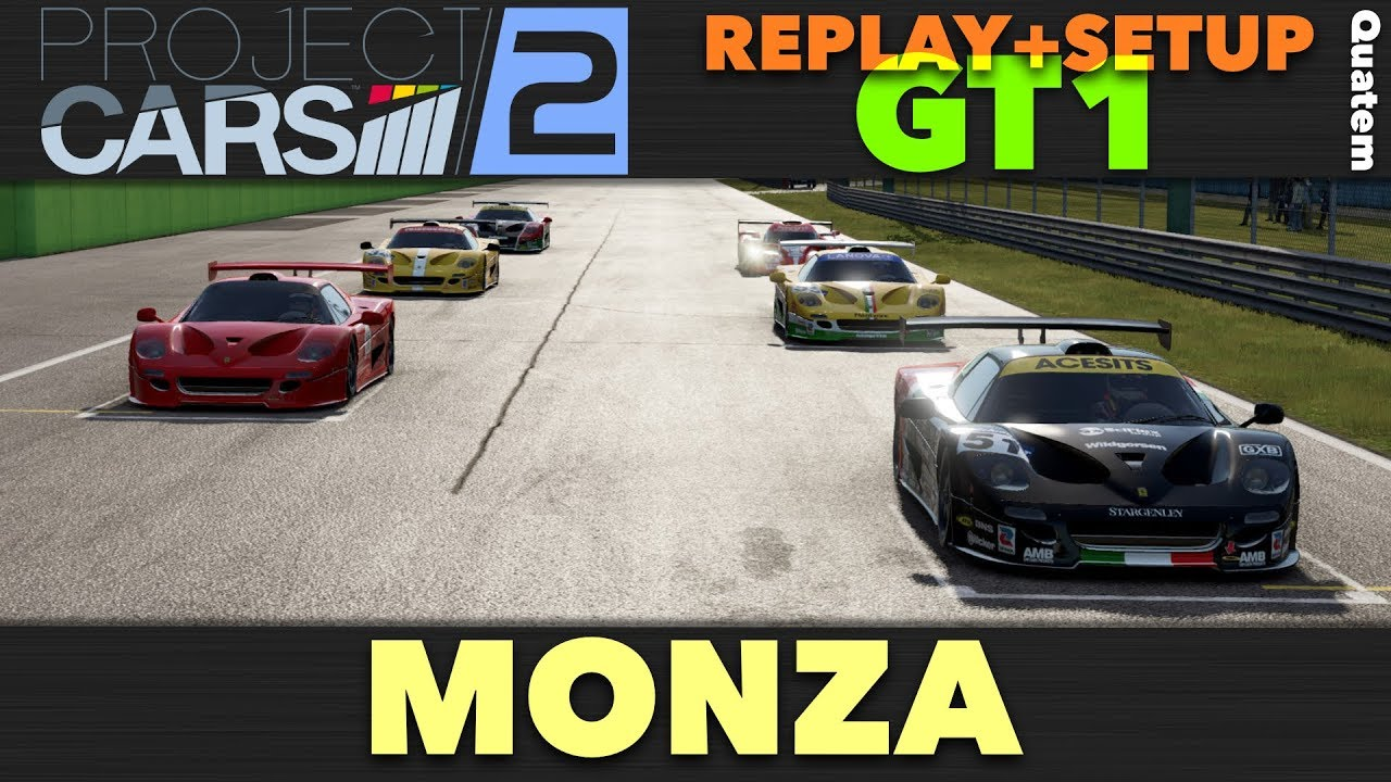project cars 2 replay multijoueur setup gt1 monza youtube. Black Bedroom Furniture Sets. Home Design Ideas