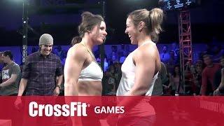 CrossFit Open 14.3 STACIE TOVAR vs ALESSANDRA PICHELLI