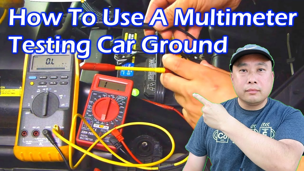medium resolution of how to use a multimeter test car s ground video 3