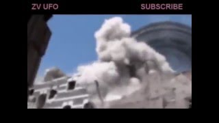 НЛО во время боя в Сирии