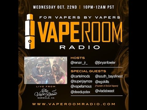 Vape Room Radio Live From Local Vape in Costa Mesa