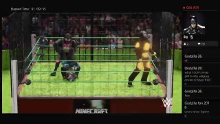 Wwe2k18 Live Fans pick Matches starts with Sonic EXE vs Tails EXE