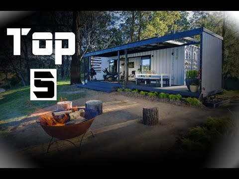 top 5 shipping container home builds