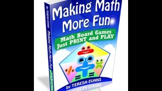 Making Math More Fun Math Games Package