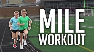 Mile Workout - Eugene Marathon Training: Week 2