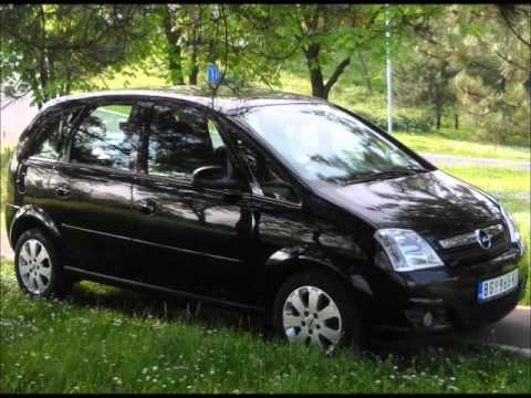 opel meriva 1 7 cdti 2009 restayling youtube. Black Bedroom Furniture Sets. Home Design Ideas