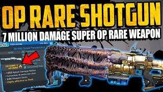 Borderlands 3: Crazy 7 MILLION DAMAGE SHOTGUN - Super OP RARE Shotgun - Burning Casual Protuberance