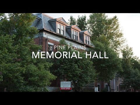 Pine Plains Memorial Hall Project
