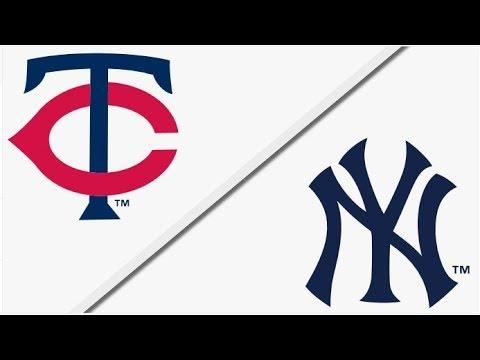 Minnesota Twins vs New York Yankees | Full Game Highlights | 4/25/18