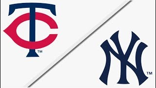 Minnesota Twins vs New York Yankees | Full Game Highlights | 4/25/18