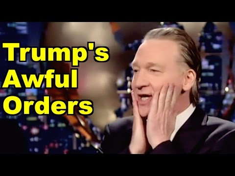 Trump's Awful Orders - Bill Maher, Kellyanne Conway & MORE! LV Sunday LIVE Clip Roundup 197