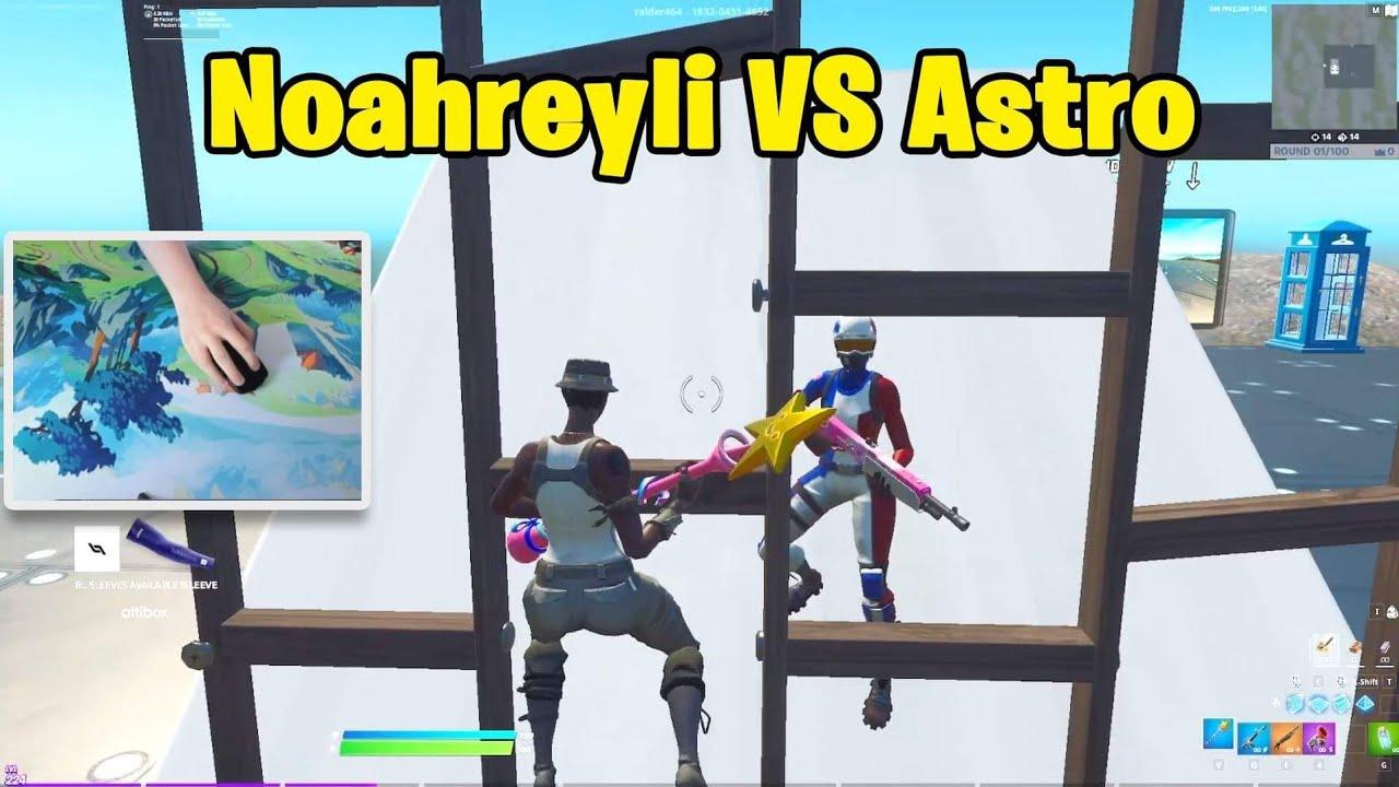 Noahreyli VS Astro 1v1 Buildfights!