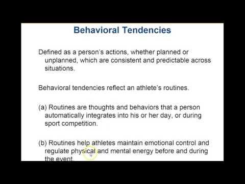 PET2214 Sports Psychology Chp. 2