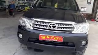 FORTUNER AT 4X4 2012  34FUN - XE TẢI - NHỊP CẦU XE CŨ  0977535318