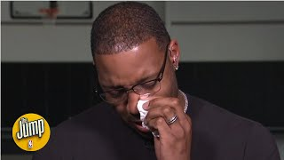 Tracy McGrady in tears remembering good friend Kobe Bryant and his daughter Gianna | The Jump