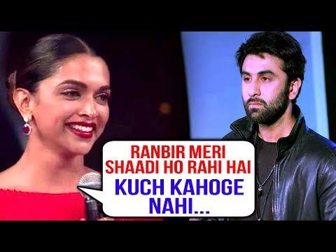 Ranbir Kapoor Emotional, NO REACTION On Deepika Padukone Wedding