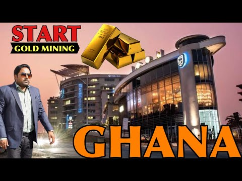 How to Invest in Gold Mining HUB Ghana.