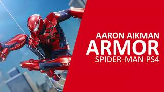 Spider-man PS4 Aaron Aikman Armor Gameplay