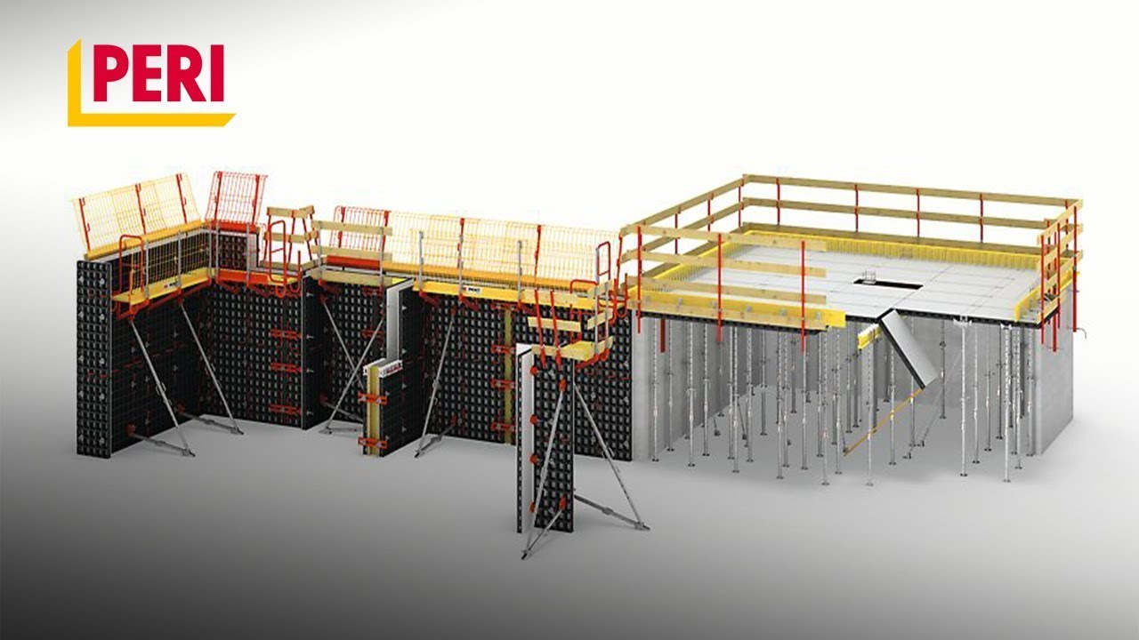 PERI DUO Animation – The lightweight formwork for walls, columns and slabs