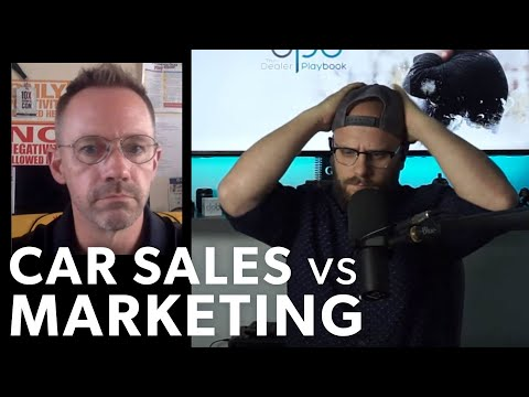Car Sales Vs. Automotive Marketing - Which One Is Better?