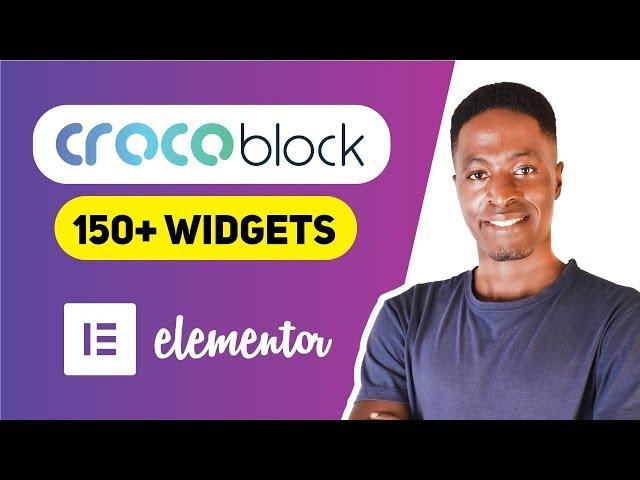 Crocoblock Widgets for Elementor: Get 150+ Elementor Widgets (Jet Elements)