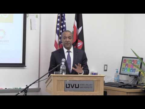 Permanent Representative of Kenya to the United Nations, Ambassador Macharia Kamau - UVU