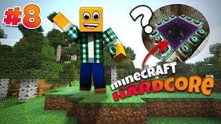 """Minecraft Hardcore #8 - """"Szukamy twierdzy endu!"""""""