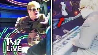 Elton John Wacked In The Face!   TMZ Live