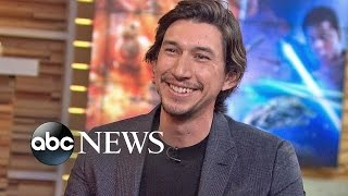 Adam Driver Represents the Dark Side in 'The Force Awakens'
