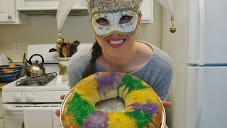 ASMR: King Cake | Mardi Gras | Eating Sounds