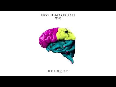Hasse de Moor x Curbi - ADHD (Official Audio)
