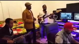 Singer Abinet Agonafir's  Rehearsal Session