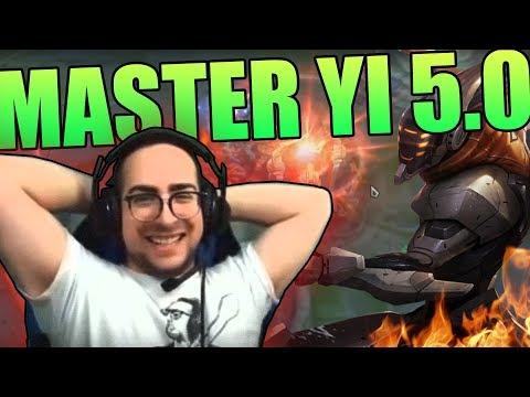 MATTEOHS | MASTER YI 5.0 | PATCH 8.19| LEAGUE OF LEGENDS GAMEPLAY ITA HD thumbnail