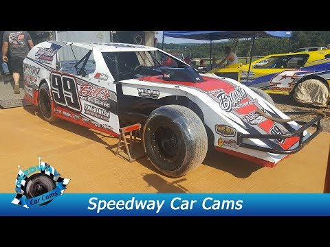 #99 Blake Brown - Open Wheel - 9-3-17 Tazewell Speedway - In Car Camera