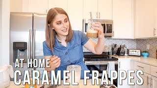 On The Hunt for the PERFECT Caramel Frappe Recipe At Home Because I&#39m Obsessed lol #FrappeCult