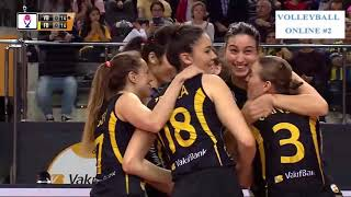 Vakifbank vs Fenerbahce l Semifinal l Game 2 l 2018/2019 Turkey Women Volleyball League