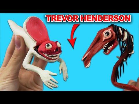Злая Долговязая лошадь - Evil long horse, новый Bridge Worm   Лепим Творения Тревора Хендерсона