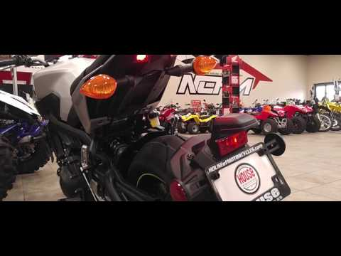 2017 Yamaha FZ-09 Glance Over @NCHM