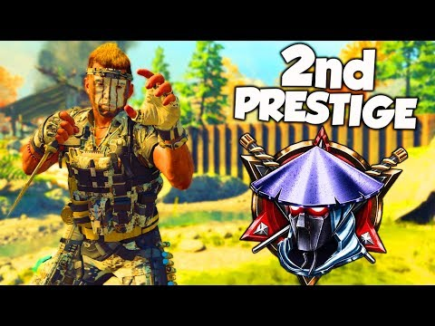 2nd PRESTIGE WITHOUT SHOOTING A BULLET!! (Black Ops 4)
