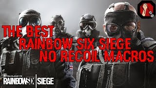 Perfect RAINBOW SIX SIEGE No Recoil Macros/Scripts | Undetectable | Working  with every mouse! by www Legit-Helpers com