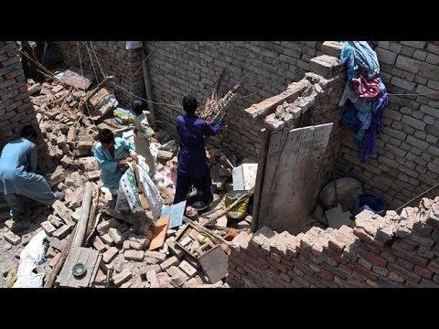 Destructive! EARTHQUAKE shake PAKISTAN 2 Dead 70 Injrd 5.9.14 See