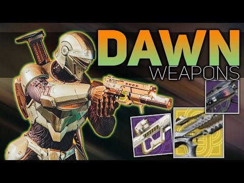 Season of Dawn Weapons (New Exotics, Seasonal Artifact, & Season Content) | Destiny 2 NEWS