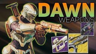 Season of Dawn Weapons (New Exotics, Seasonal Artifact, & Season Content) | Destiny 2 NEWS