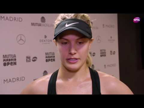My Performance | Genie Bouchard defeats Maria Sharapova | 2017 Mutua Madrid Open Second Round WTA